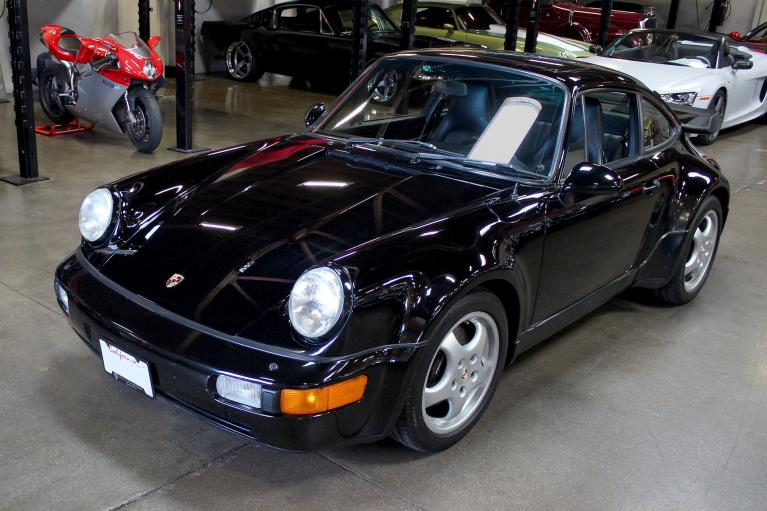 Used 1992 Porsche 911 Turbo for sale Sold at San Francisco Sports Cars in San Carlos CA 94070 3