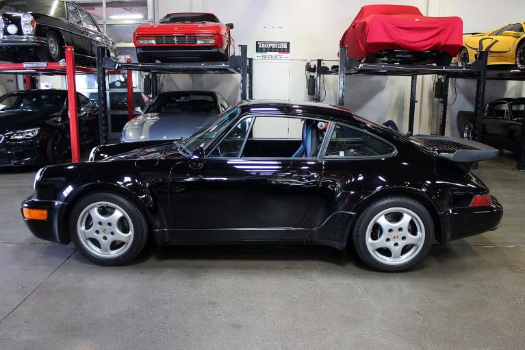 Used 1992 Porsche 911 Turbo for sale Sold at San Francisco Sports Cars in San Carlos CA 94070 4