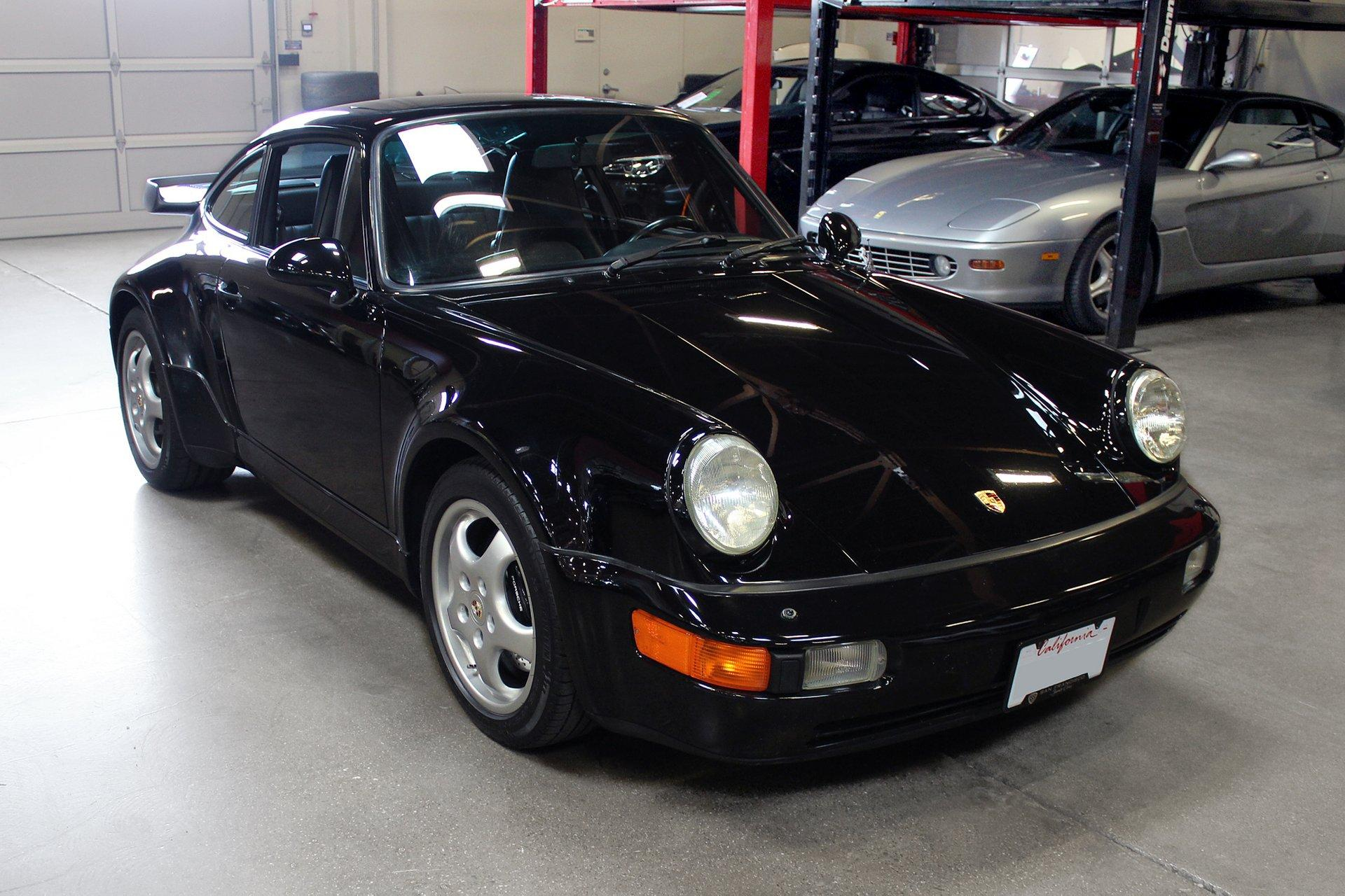 Used 1992 Porsche 911 Turbo for sale Sold at San Francisco Sports Cars in San Carlos CA 94070 1
