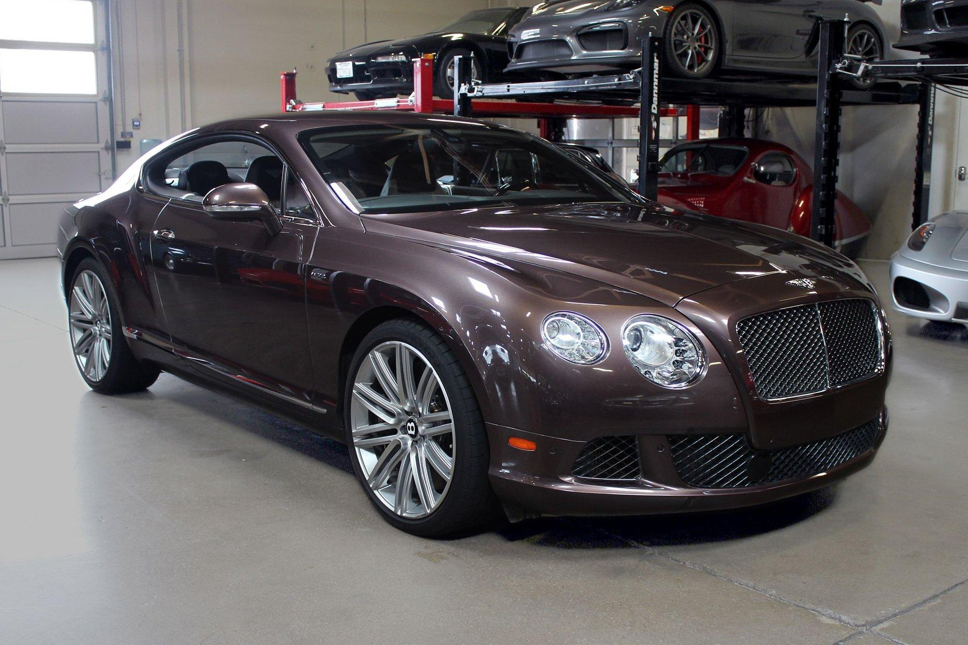 Used 2013 Bentley Continental GT Speed for sale Sold at San Francisco Sports Cars in San Carlos CA 94070 1