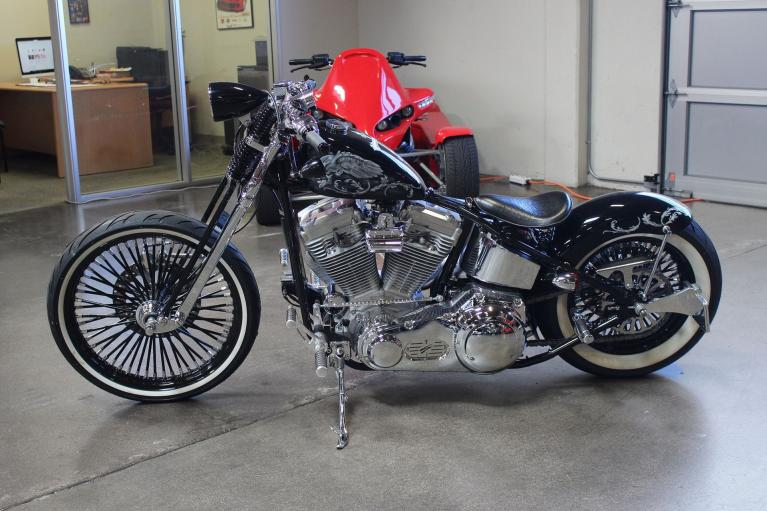 Used 2009 Harley-Davidson Swift Chopper for sale Sold at San Francisco Sports Cars in San Carlos CA 94070 4