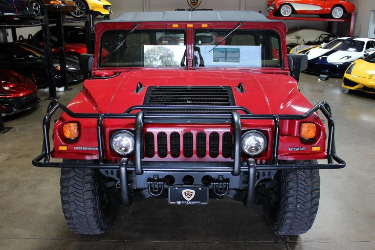 Used 2001 Hummer H1 for sale Sold at San Francisco Sports Cars in San Carlos CA 94070 2