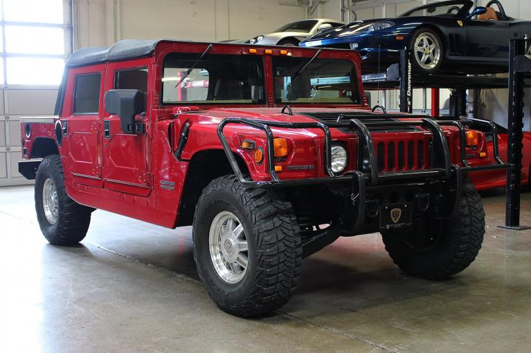 Used 2001 Hummer H1 for sale Sold at San Francisco Sports Cars in San Carlos CA 94070 1