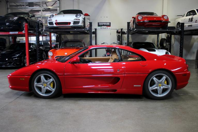 Used 1997 Ferrari F355 GTB for sale Sold at San Francisco Sports Cars in San Carlos CA 94070 4