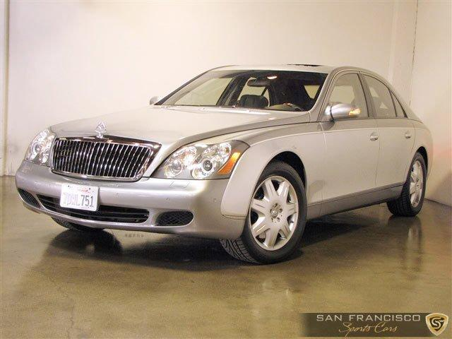 Used 2004 Maybach 57 for sale Sold at San Francisco Sports Cars in San Carlos CA 94070 2