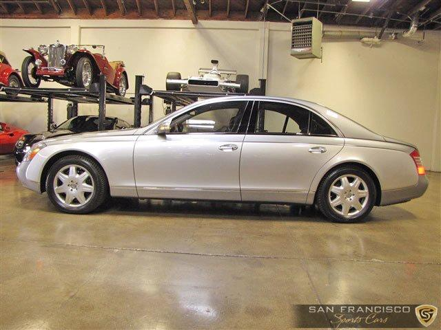 Used 2004 Maybach 57 for sale Sold at San Francisco Sports Cars in San Carlos CA 94070 3