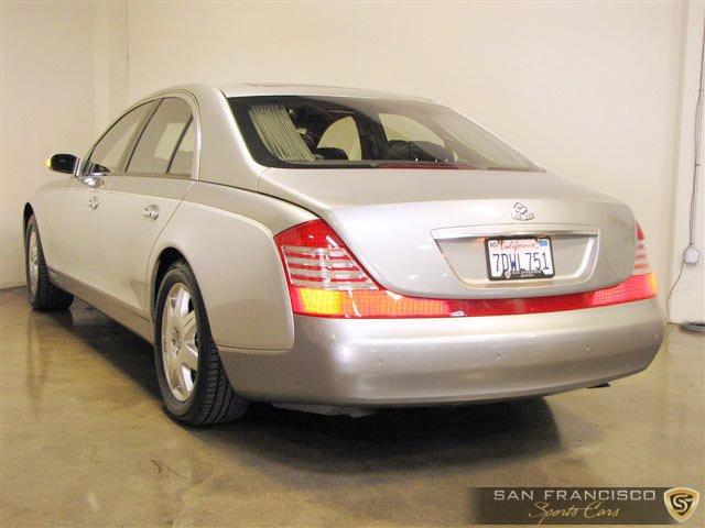 Used 2004 Maybach 57 for sale Sold at San Francisco Sports Cars in San Carlos CA 94070 4
