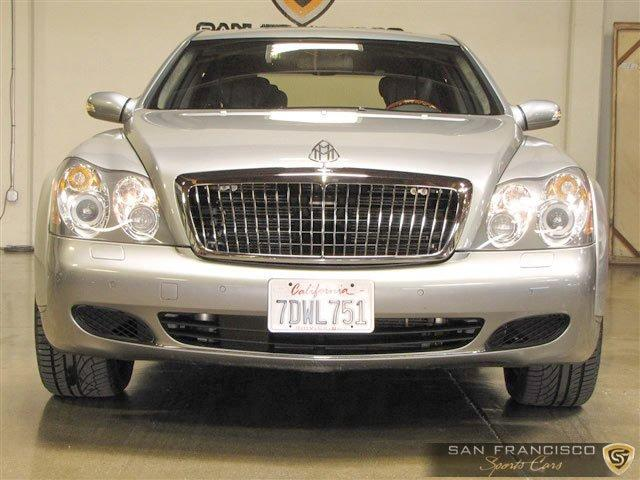 Used 2004 Maybach 57 for sale Sold at San Francisco Sports Cars in San Carlos CA 94070 1