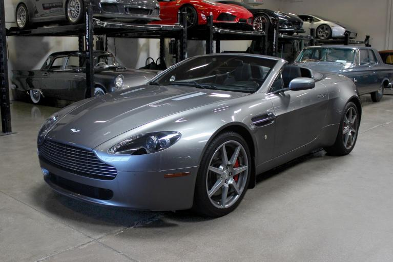 Used 2007 Aston Martin V8 Vantage for sale Sold at San Francisco Sports Cars in San Carlos CA 94070 3