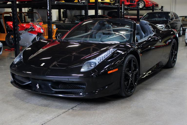 Used 2015 Ferrari 458 Spider for sale Sold at San Francisco Sports Cars in San Carlos CA 94070 3