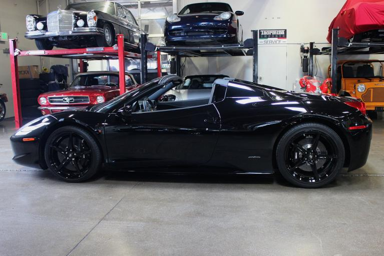 Used 2015 Ferrari 458 Spider for sale Sold at San Francisco Sports Cars in San Carlos CA 94070 4