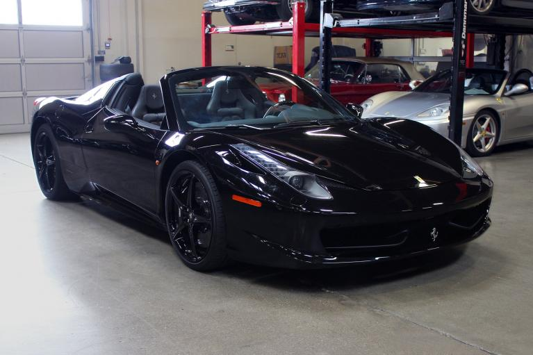 Used 2015 Ferrari 458 Spider for sale Sold at San Francisco Sports Cars in San Carlos CA 94070 1