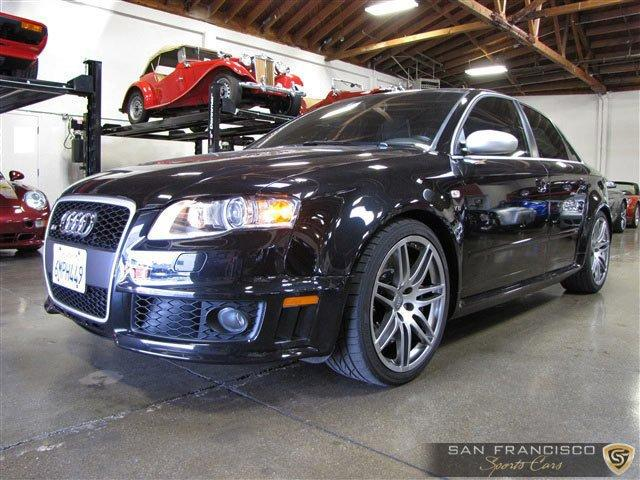 Used 2007 Audi RS4 for sale Sold at San Francisco Sports Cars in San Carlos CA 94070 2