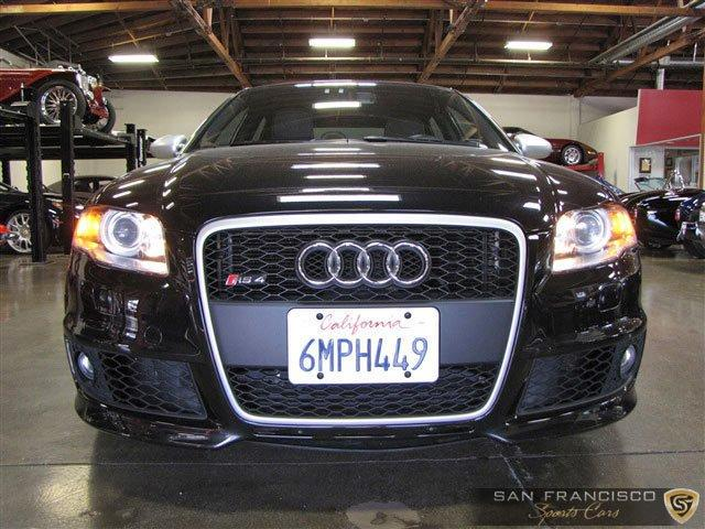 Used 2007 Audi RS4 for sale Sold at San Francisco Sports Cars in San Carlos CA 94070 1