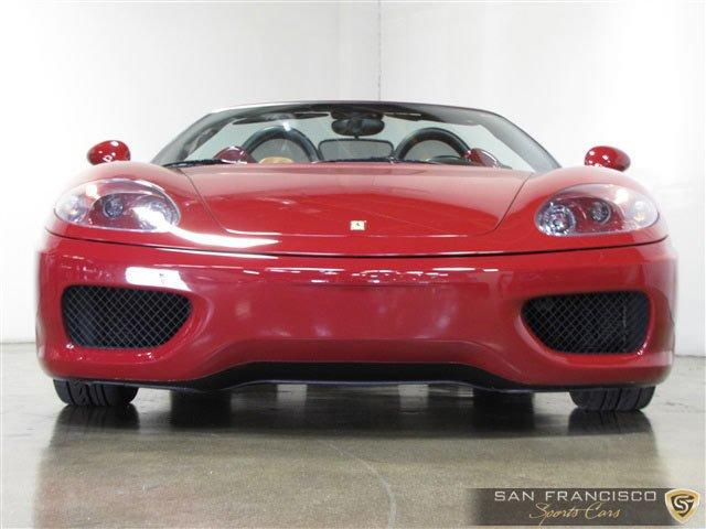 Used 2004 Ferrari 360 Spider for sale Sold at San Francisco Sports Cars in San Carlos CA 94070 1