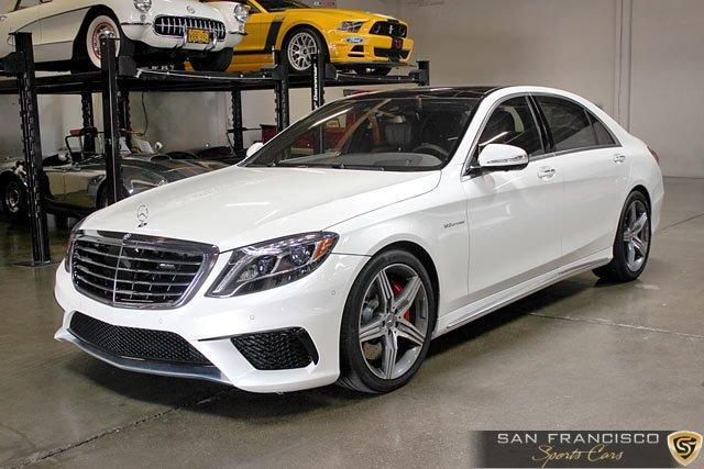 Used 2015 Mercedes-Benz S63 AMG Sedan for sale Sold at San Francisco Sports Cars in San Carlos CA 94070 2