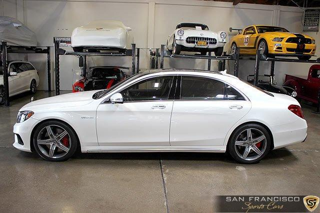 Used 2015 Mercedes-Benz S63 AMG Sedan for sale Sold at San Francisco Sports Cars in San Carlos CA 94070 3