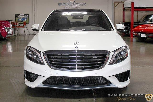 Used 2015 Mercedes-Benz S63 AMG Sedan for sale Sold at San Francisco Sports Cars in San Carlos CA 94070 1