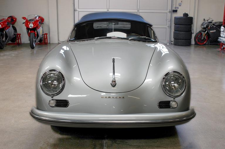 Used 1956 Porsche 356A Speedster 1600 Super for sale $449,995 at San Francisco Sports Cars in San Carlos CA 94070 2