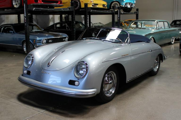Used 1956 Porsche 356 Speedster for sale Sold at San Francisco Sports Cars in San Carlos CA 94070 3