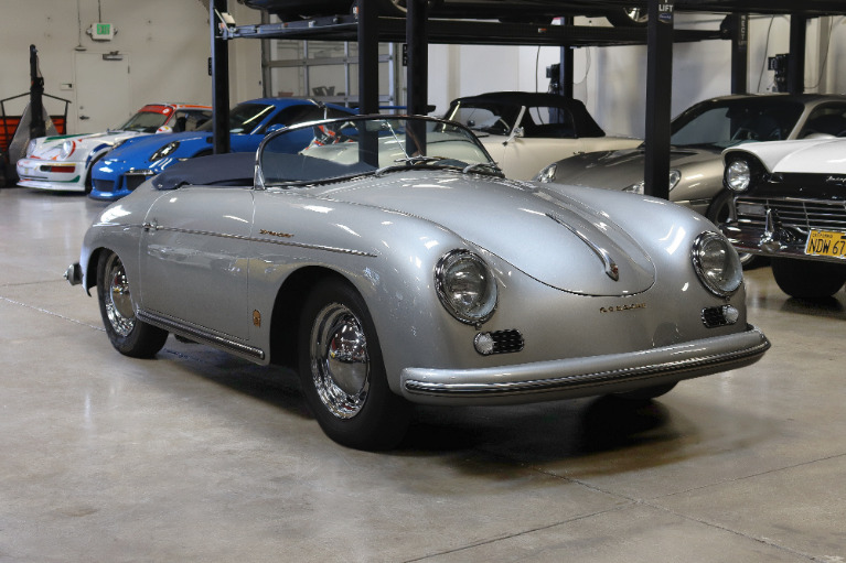 Used 1956 Porsche 356 Speedster for sale Sold at San Francisco Sports Cars in San Carlos CA 94070 1