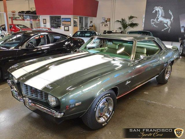Used 1969 Chevrolet Camaro for sale Sold at San Francisco Sports Cars in San Carlos CA 94070 1
