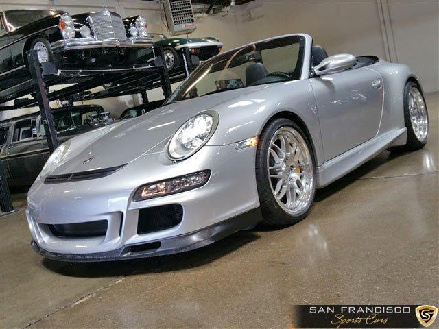 Used 2006 Porsche 911 Carrera 4 Cabriolet for sale Sold at San Francisco Sports Cars in San Carlos CA 94070 2