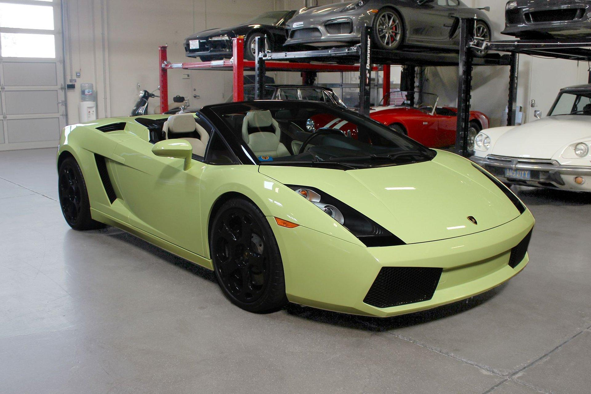 Used 2006 Lamborghini GALLARDO SPYDER for sale Sold at San Francisco Sports Cars in San Carlos CA 94070 1