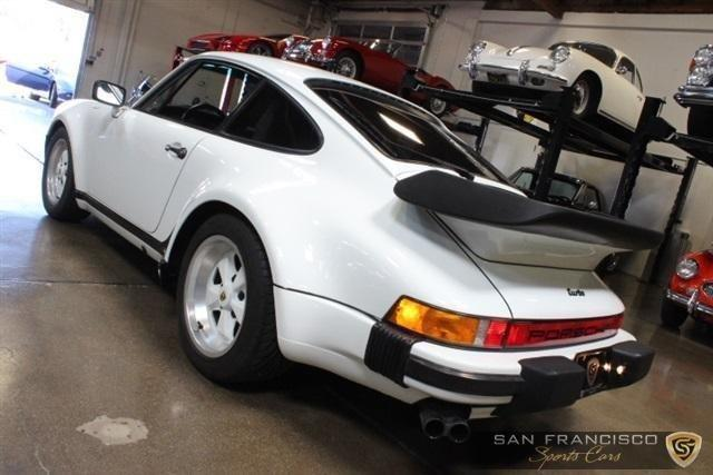 Used 1986 Porsche 930 Turbo for sale Sold at San Francisco Sports Cars in San Carlos CA 94070 4