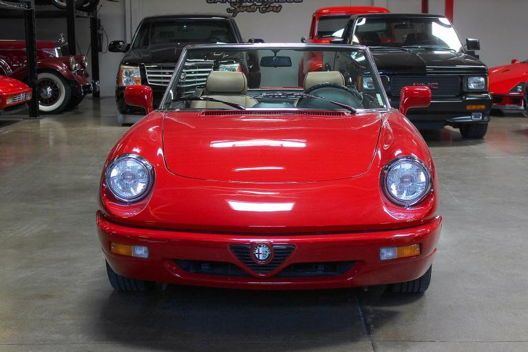 Used 1991 Alfa Romeo Spider for sale Sold at San Francisco Sports Cars in San Carlos CA 94070 2