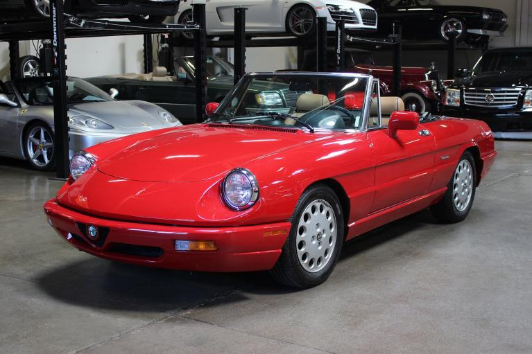 Used 1991 Alfa Romeo Spider for sale Sold at San Francisco Sports Cars in San Carlos CA 94070 3