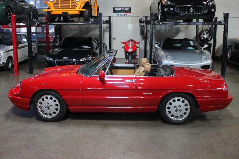 Used 1991 Alfa Romeo Spider for sale Sold at San Francisco Sports Cars in San Carlos CA 94070 4