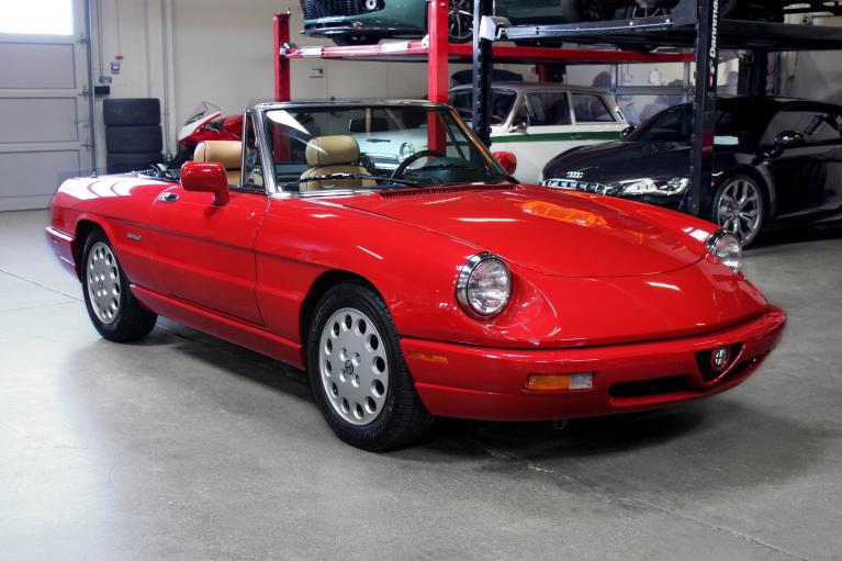 Used 1991 Alfa Romeo Spider for sale Sold at San Francisco Sports Cars in San Carlos CA 94070 1