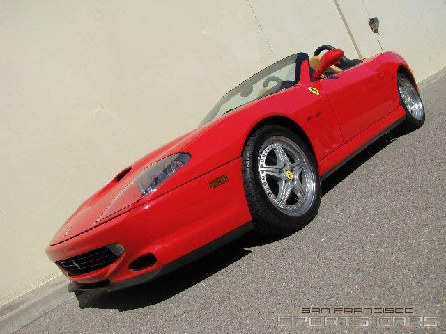 Used 2001 Ferrari 550 Barchetta Pininfarina for sale Sold at San Francisco Sports Cars in San Carlos CA 94070 3