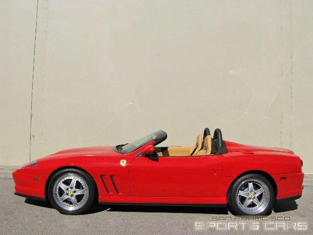 Used 2001 Ferrari 550 Barchetta Pininfarina for sale Sold at San Francisco Sports Cars in San Carlos CA 94070 4
