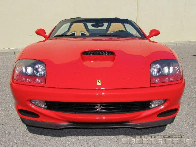 Used 2001 Ferrari 550 Barchetta Pininfarina for sale Sold at San Francisco Sports Cars in San Carlos CA 94070 1