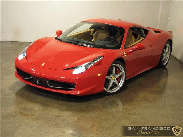Used 2010 Ferrari 458 Italia for sale Sold at San Francisco Sports Cars in San Carlos CA 94070 2