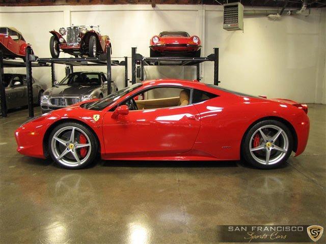 Used 2010 Ferrari 458 Italia for sale Sold at San Francisco Sports Cars in San Carlos CA 94070 3