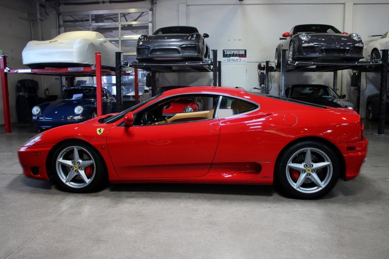 Used 2002 Ferrari 360 Modena for sale Sold at San Francisco Sports Cars in San Carlos CA 94070 4