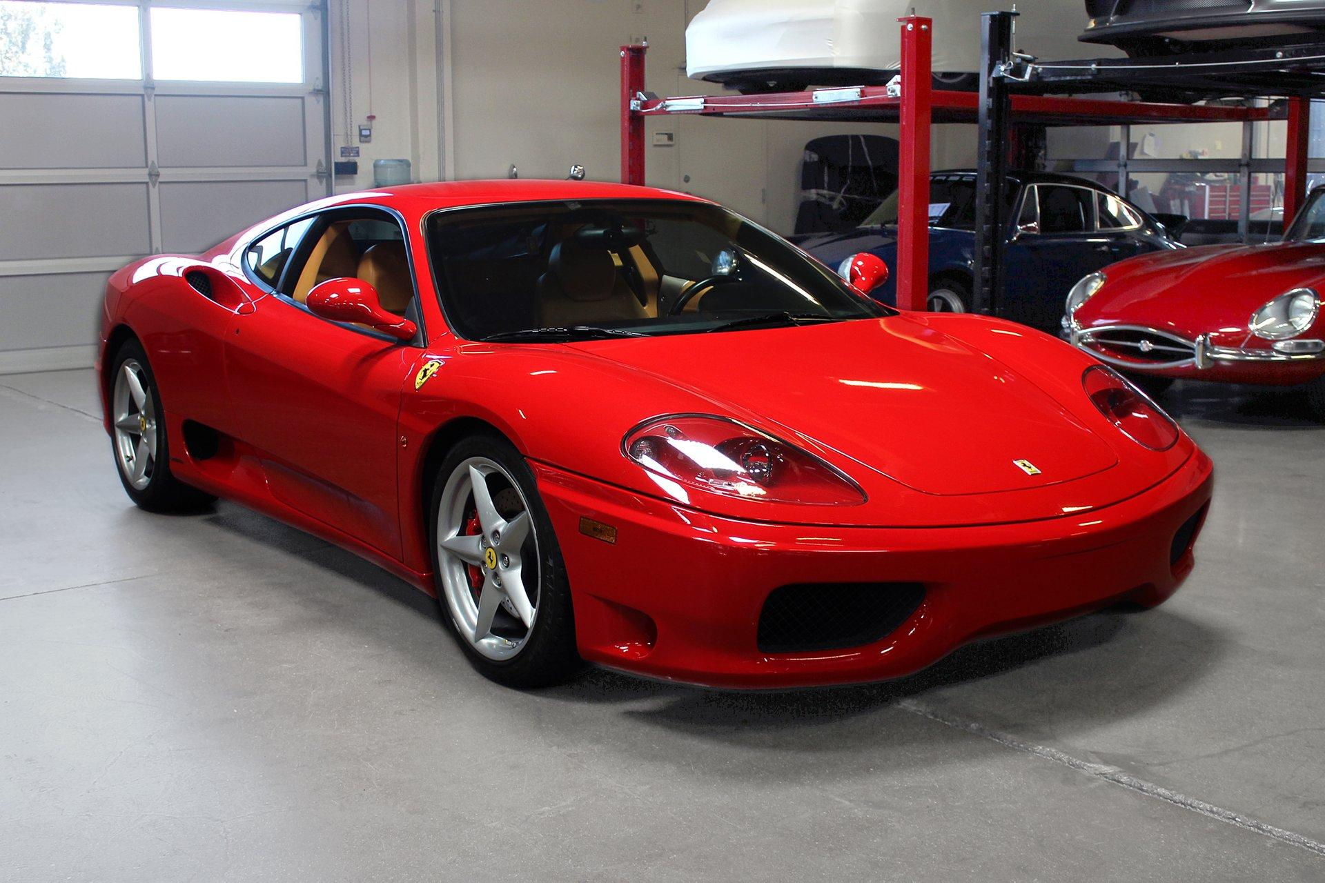 Used 2002 Ferrari 360 Modena for sale Sold at San Francisco Sports Cars in San Carlos CA 94070 1