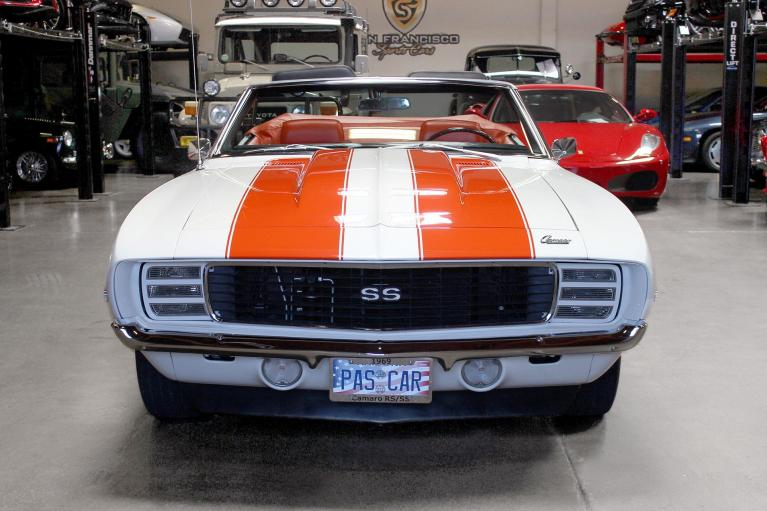Used 1969 Chevrolet Camaro for sale Sold at San Francisco Sports Cars in San Carlos CA 94070 2