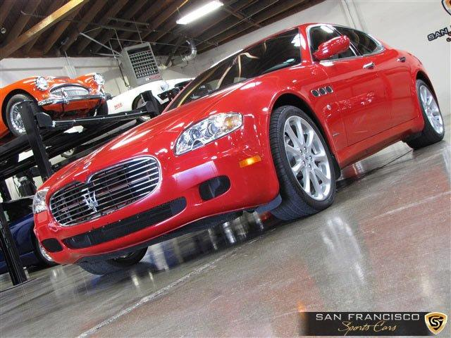 Used 2005 Maserati Quattroporte for sale Sold at San Francisco Sports Cars in San Carlos CA 94070 2