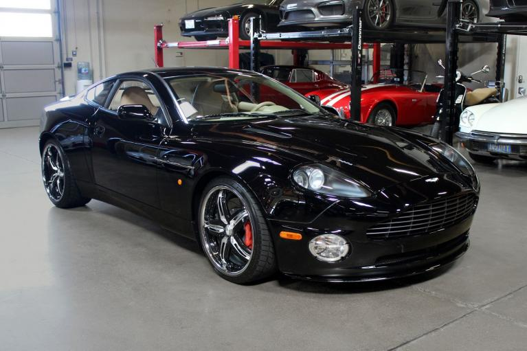 Used 2006 Aston Martin Vanquish S for sale $69,995 at San Francisco Sports Cars in San Carlos CA