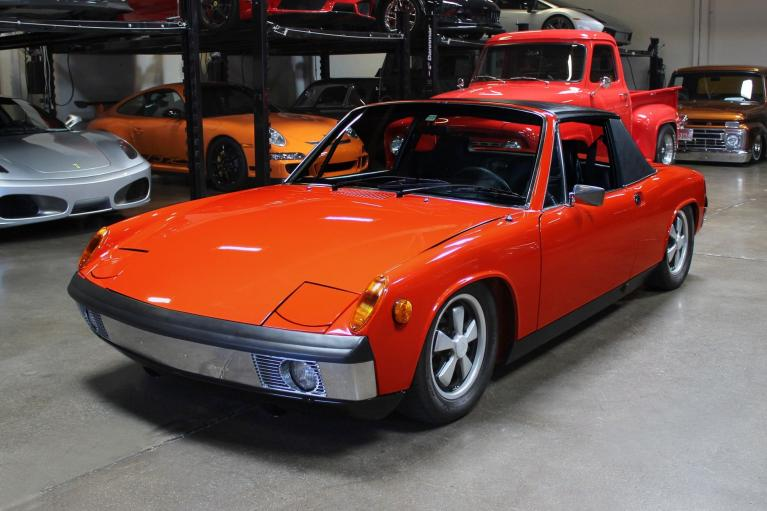 Used 1970 Porsche 914-6 for sale Sold at San Francisco Sports Cars in San Carlos CA 94070 3
