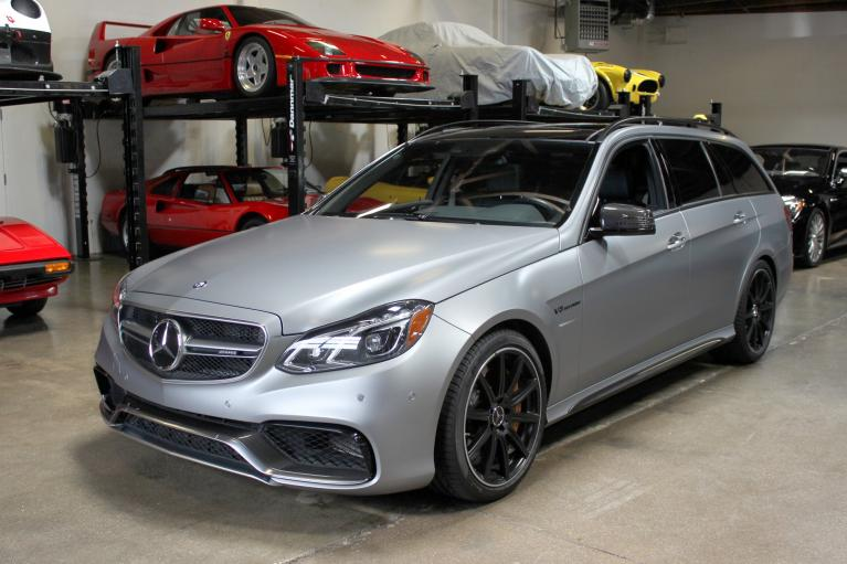 Used 2014 Mercedes-Benz AMG E63 S 4MATIC for sale Sold at San Francisco Sports Cars in San Carlos CA 94070 3