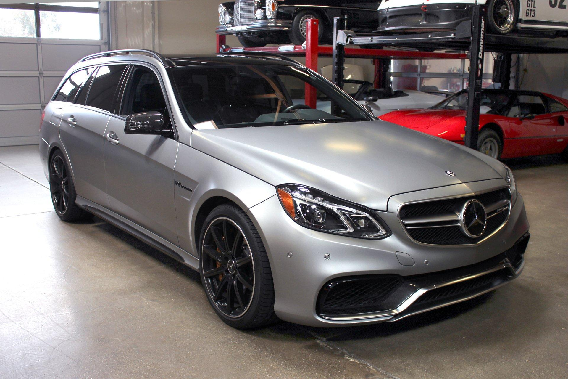 Used 2014 Mercedes-Benz AMG E63 S 4MATIC for sale Sold at San Francisco Sports Cars in San Carlos CA 94070 1
