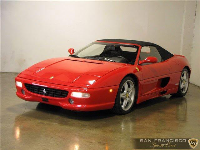 Used 1995 Ferrari F355 Spider for sale Sold at San Francisco Sports Cars in San Carlos CA 94070 2