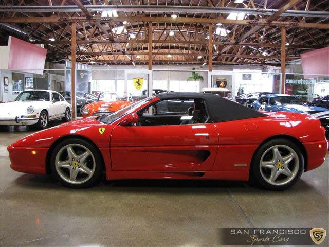Used 1995 Ferrari F355 Spider for sale Sold at San Francisco Sports Cars in San Carlos CA 94070 3