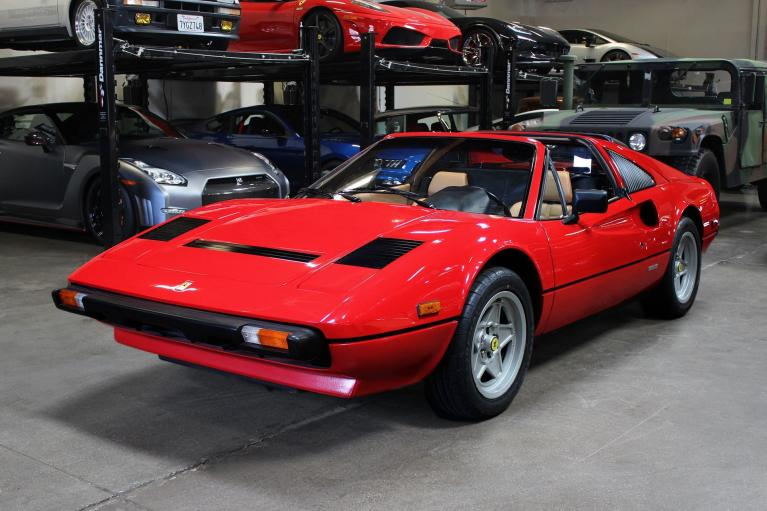 Used 1984 Ferrari 308 GTS for sale Sold at San Francisco Sports Cars in San Carlos CA 94070 3