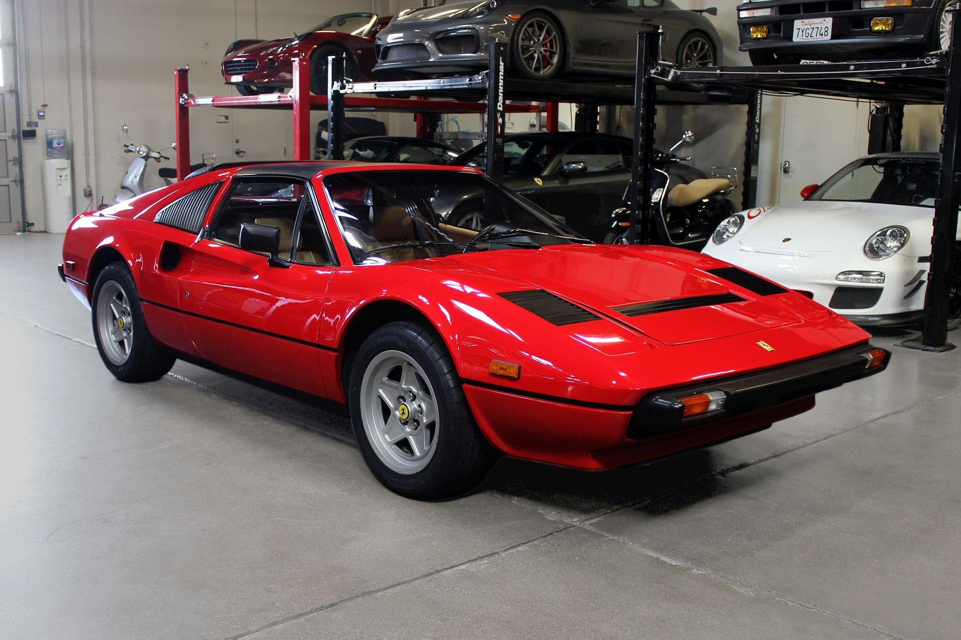 Used 1984 Ferrari 308 GTS for sale Sold at San Francisco Sports Cars in San Carlos CA 94070 1